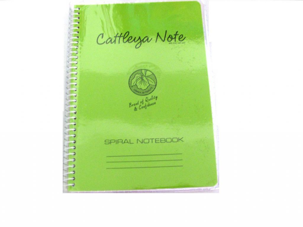 Cattleya Notebook Spiral 80s 128 Little Town School