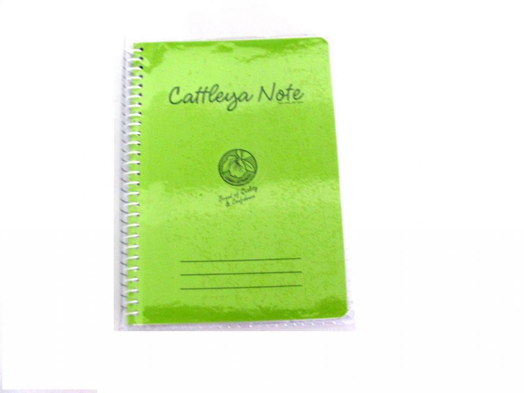 Cattleya Notebook Spiral 80s 328 Little Town School