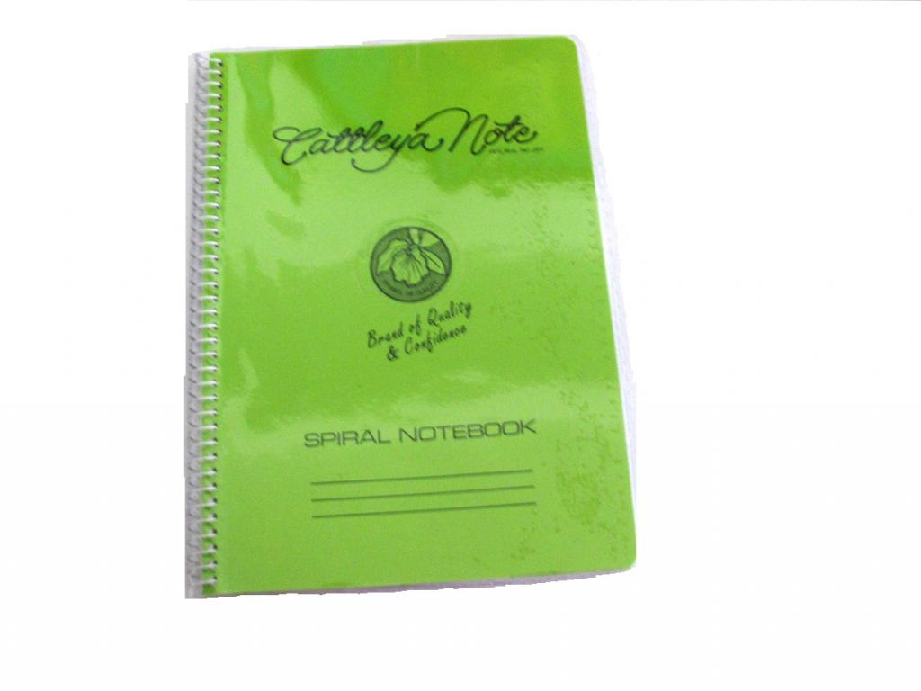 Cattleya Notebook Spiral 80s Ag 80 Little Town School