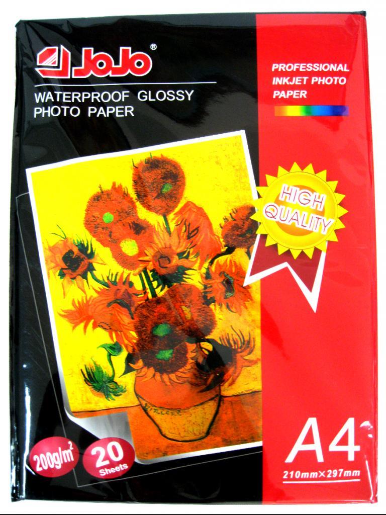 JoJo Waterproof Glossy Photo Paper A4 200 g/m2 | Little Town