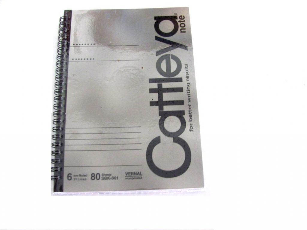 Cattleya Notebook Spiral 80s Sbk 001 Little Town School